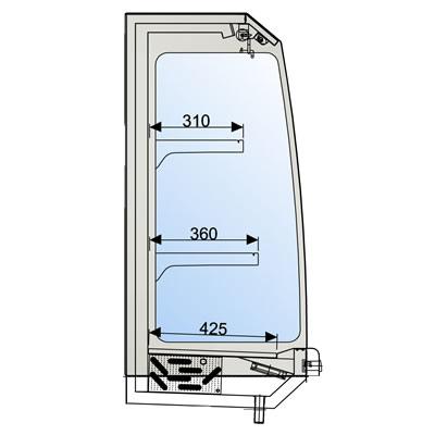 Retrobanchi refrigerati abbattitore di temperatura da casa - Abbattitore per casa ...